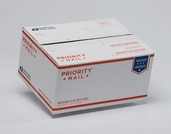 The USPS is a leader in flat rate shipping.